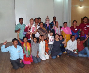After the performance of the participants at Magicians Without Borders workshop week, Assam India